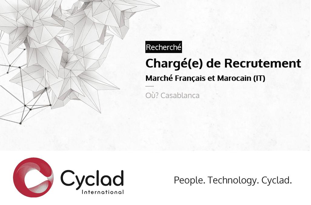 cyclad maroc recrute charg u00e9 de recrutement junior cdi  casablanca  -  u062a u0648 u0638 u064a u0641  u0645 u0646 u0635 u0628