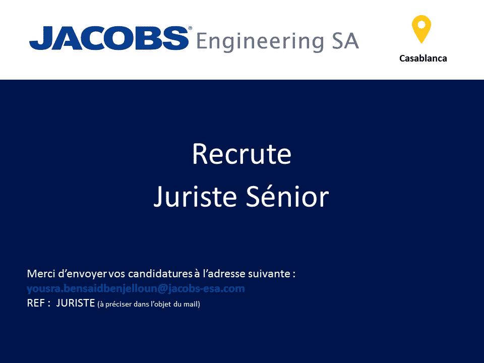 Jacobs Engineering recrute