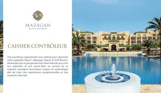 Mazagan Beach & Golf Resort recrute des Caissiers Contrôleurs (El Jadida) – توظيف في العديد من المناصب