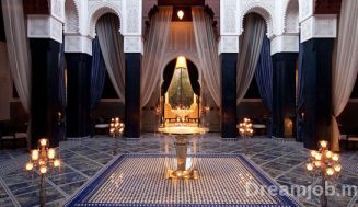 Royal Mansour Marrakech recrute un Commis Sommelier – توظيف منصب
