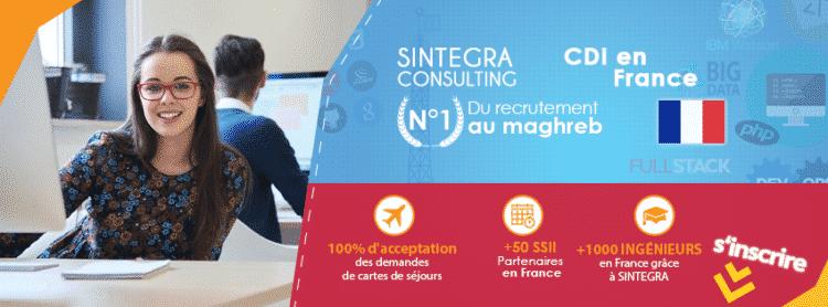 Sintegra Consulting recrutement - Dreamjob.ma