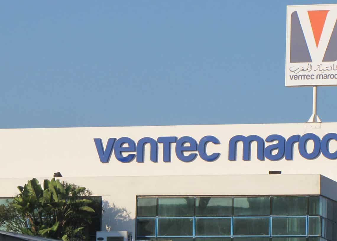 Ventec maroc recrute des ingénieurs en energétique débutants