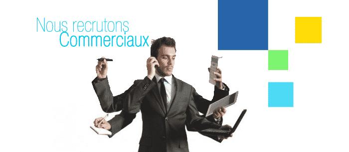 Recrutement Commerciaux - Dreamjob.ma