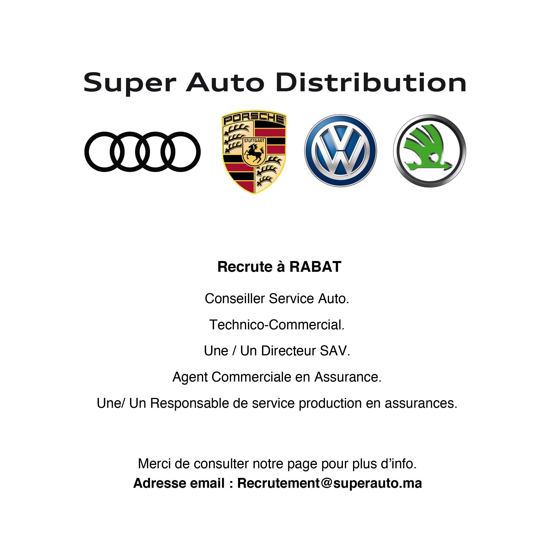 Super Auto Distribution 5 Profils - Dreamjob.ma