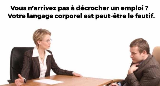 Langage Corporel - Dreamjob.ma