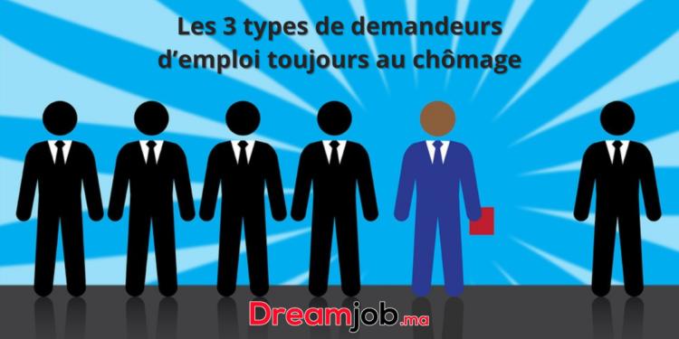 Les 3 types de demandeurs d'emploi toujours au chômage