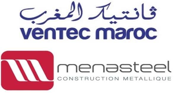 Recrutement Ventec Menasteel - Dreamjob.ma