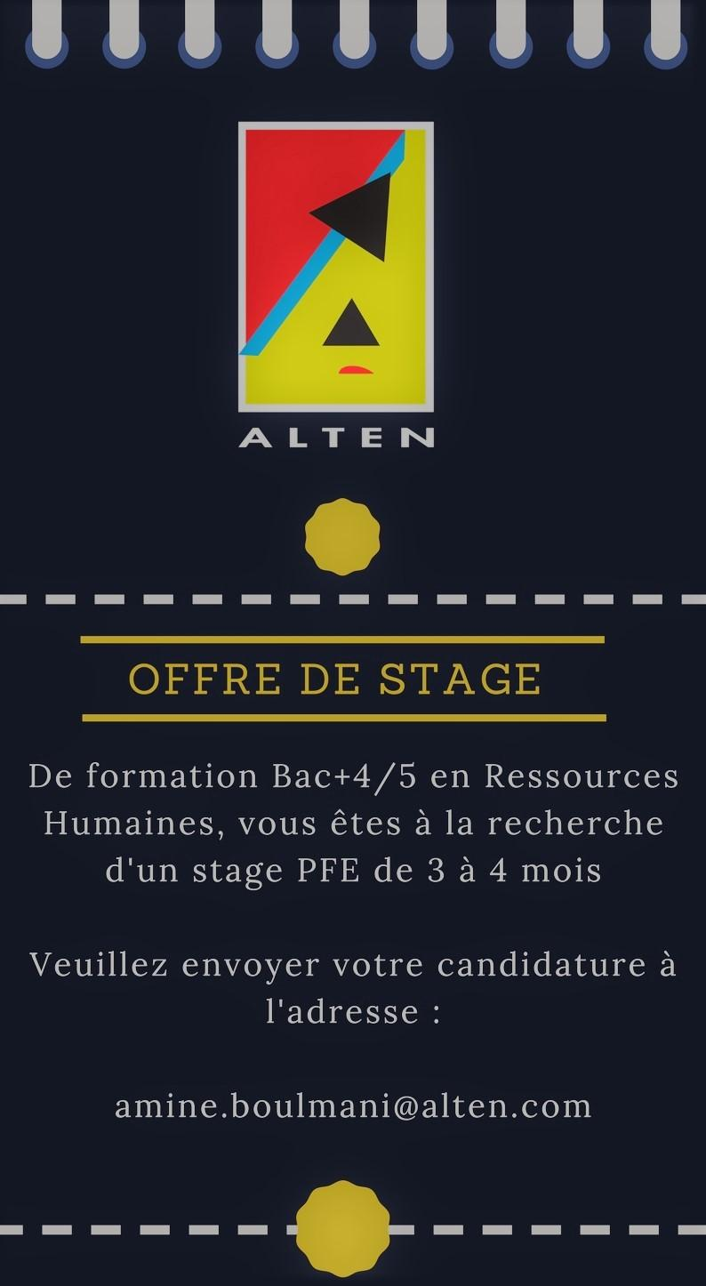 Stage Alten