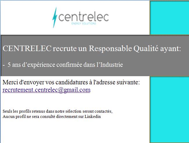 Centrelec - Dreamjob.ma