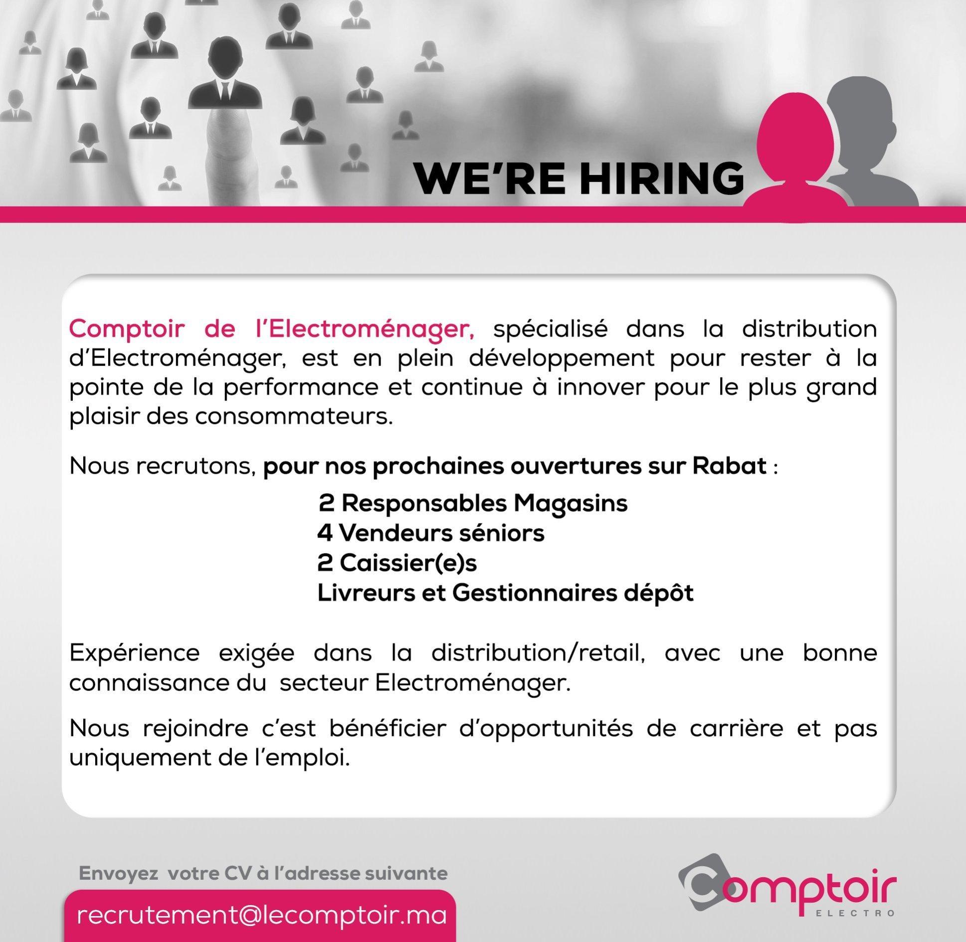 Comptoir 9 Profils - Dreamjob.ma