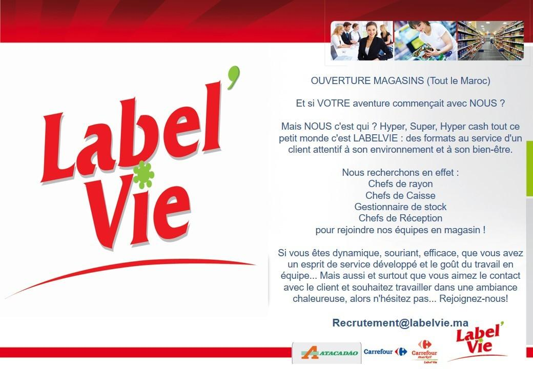 LabelVie Campagne de Recrutement - Dreamjob.ma