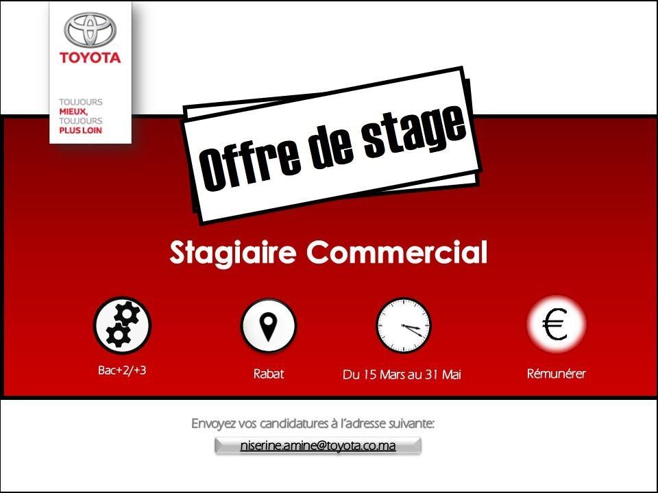 Stage Toyota - Dreamjob.ma
