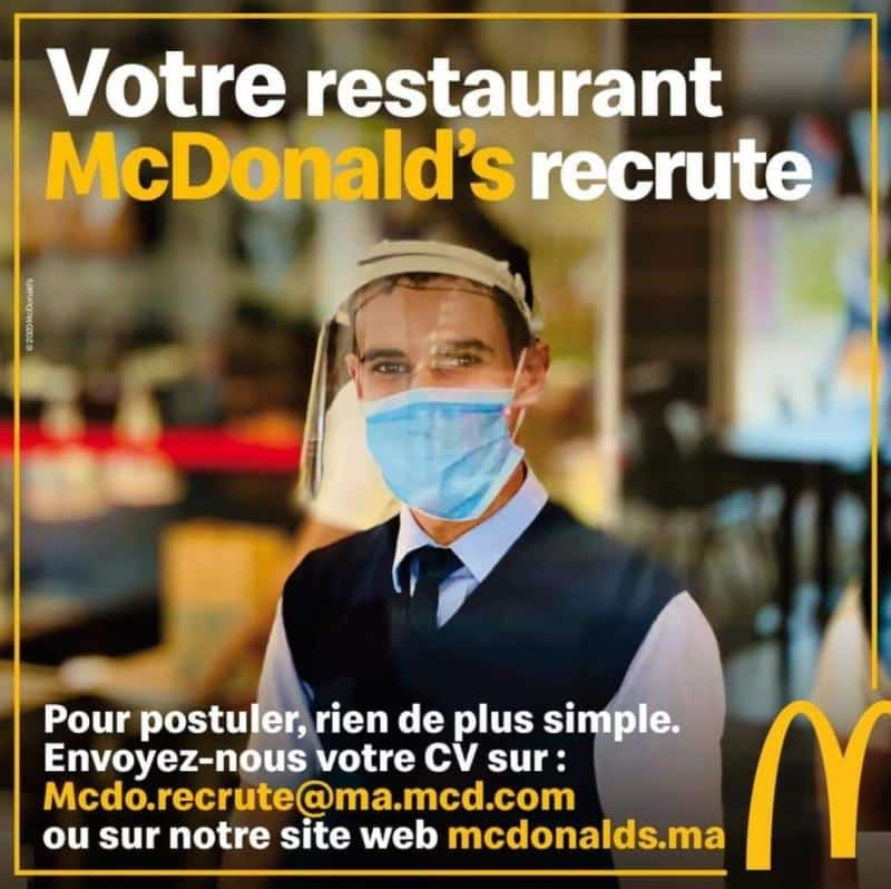 McDonald's Emploi Recrutement