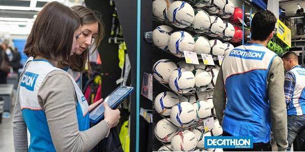 شركة دكاتلون Decathlon تعلن عن توظيف الطلبة بدون تجربة