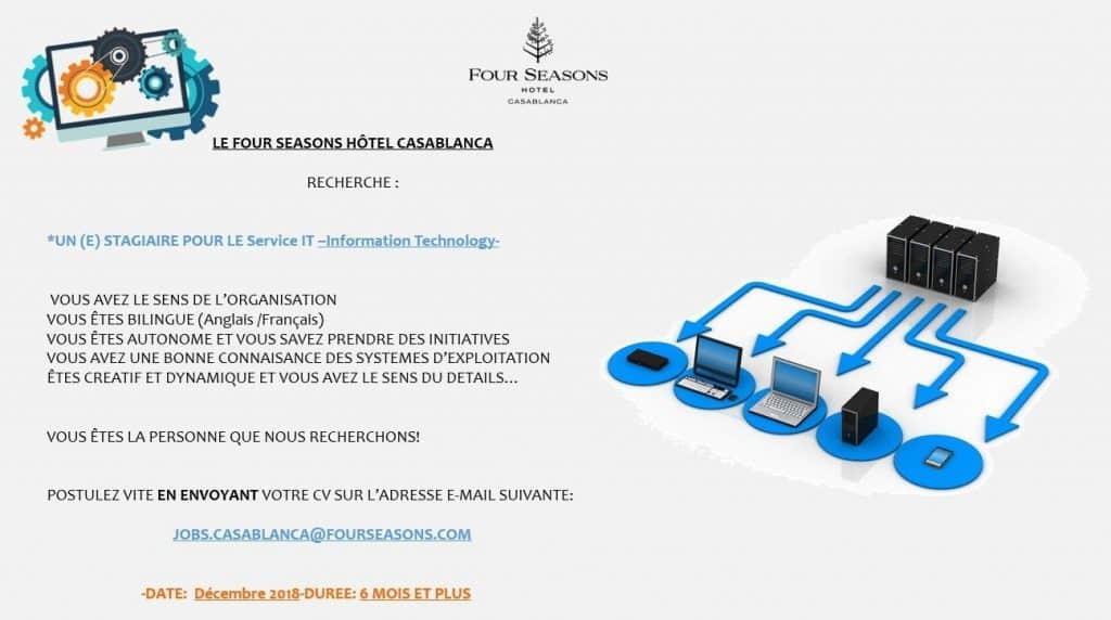 Le Four Seasons Hotel Casablanca lance le recrutement de nouveaux profils