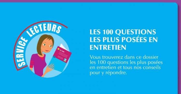 100 Questions posées entretien - Dreamjob.ma