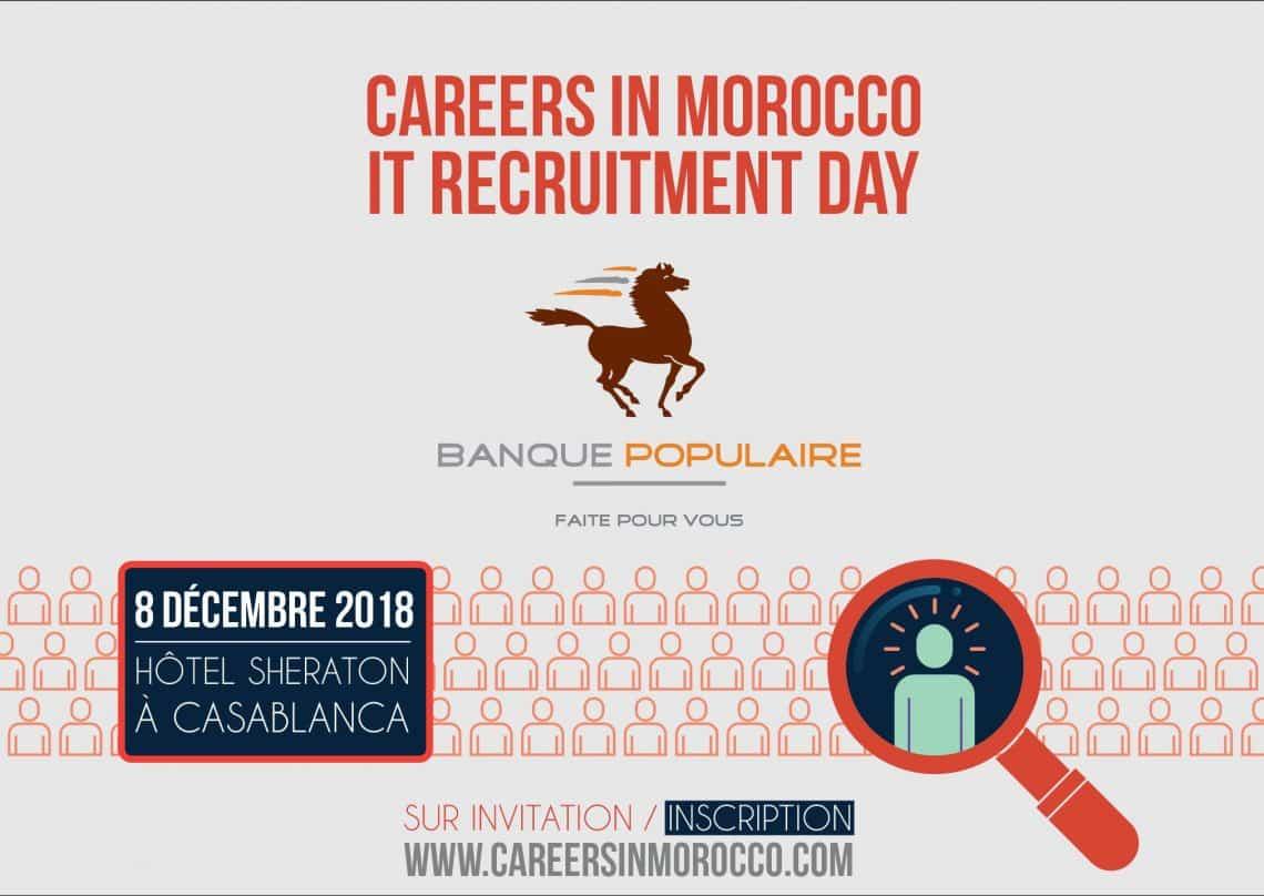 Journée de Recrutement IT le 08 Décembre 2018 au Sheraton Casablanca