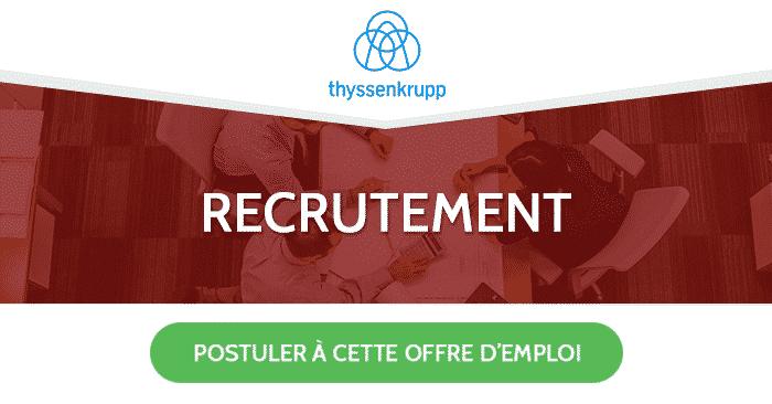Thyssenkrupp recrute - Dreamjob.ma