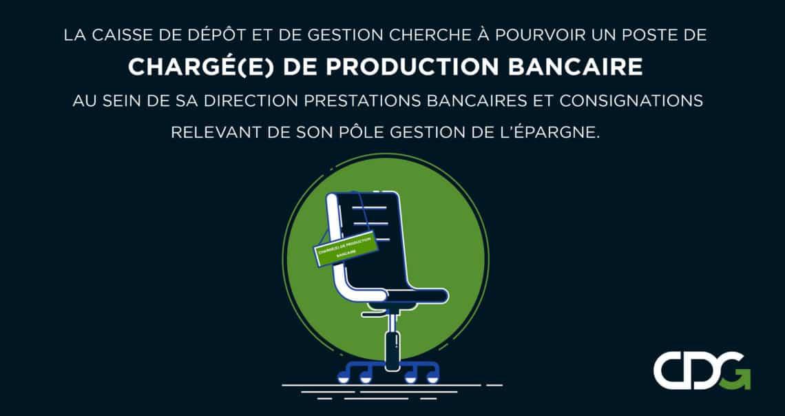 0 2019 04 24T205905.216 Groupe CDG recrute un Chargé de Production Bancaire et un Gestionnaires des Risques