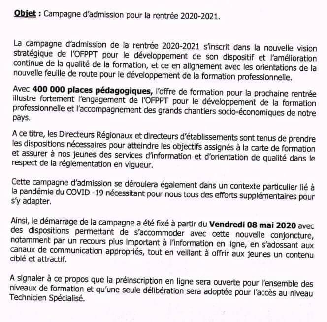 Inscription-OFPPT-2020-2021
