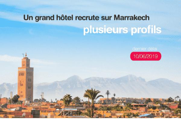 anapec recrute plusieurs profils pour un grand hotel sur marrakech