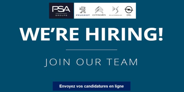 Groupe PSA Emploi Recrutement - Dreamjob.ma