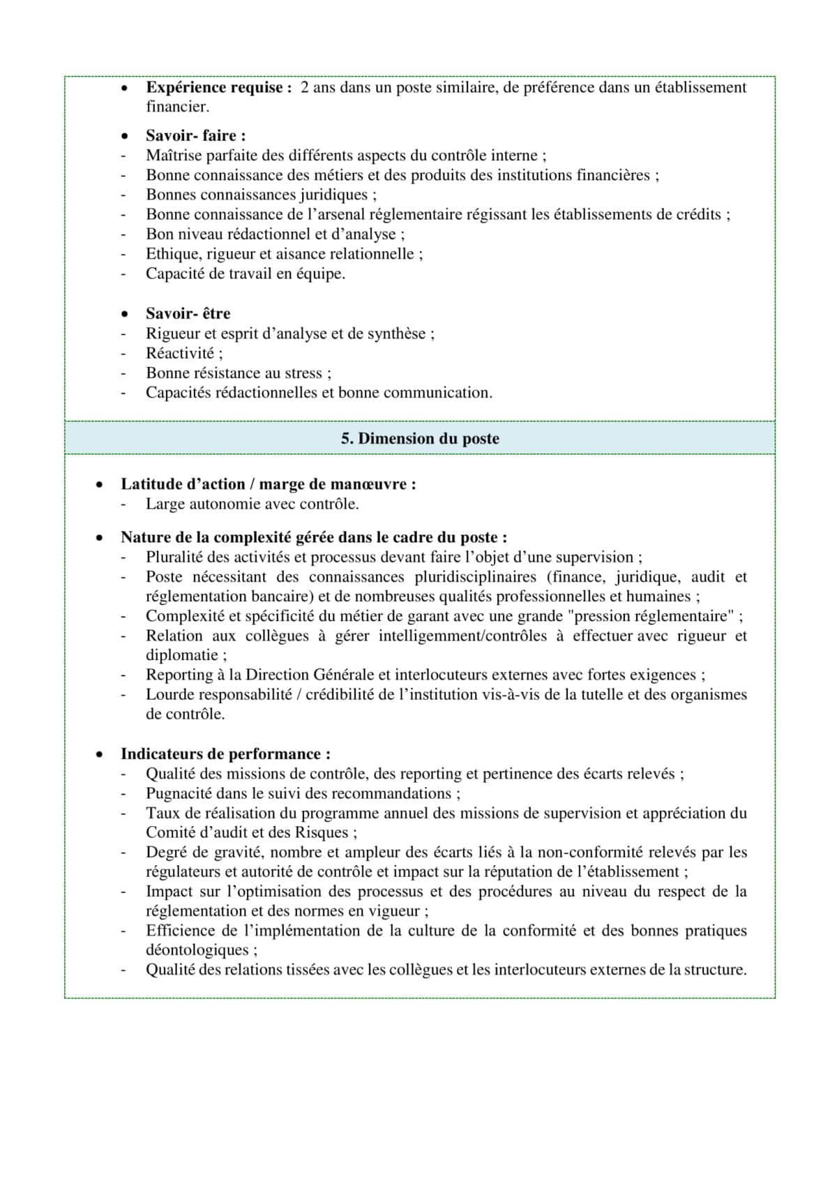 concours caisse centrale de garantie ccg  8 postes