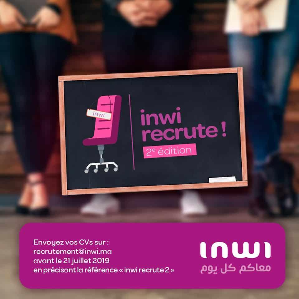 inwi recrute  2 u00e8me edition