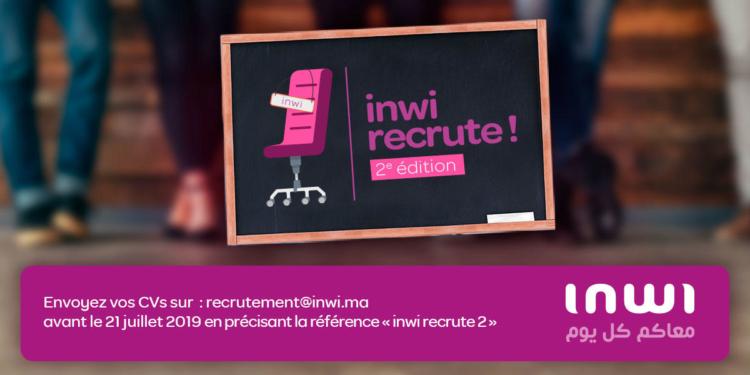 Inwi recrute 2ème Edition - Dreamjob.ma