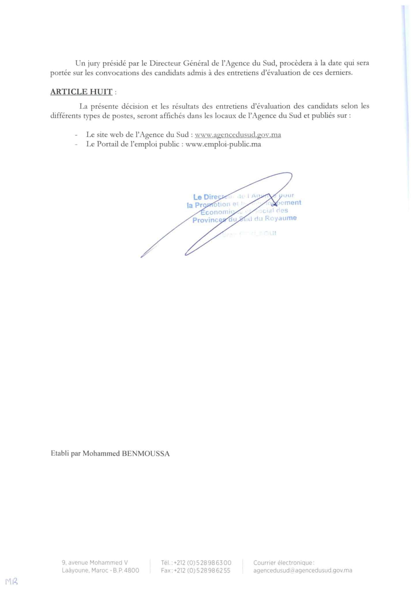 concours-apds-4-postes- maroc-alwadifa.com