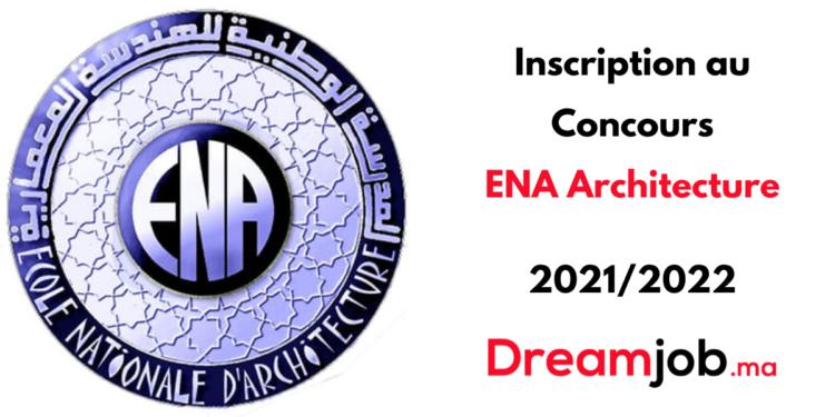 Inscription Concours ENA Architecture