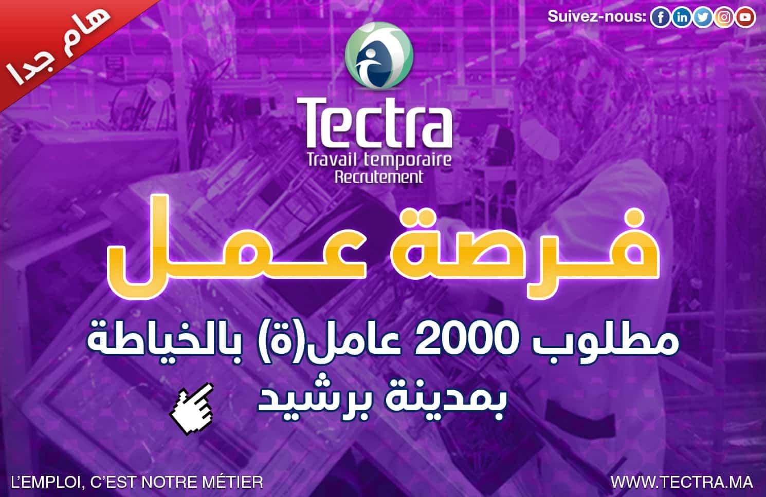 Tectra Opérateurs Couture