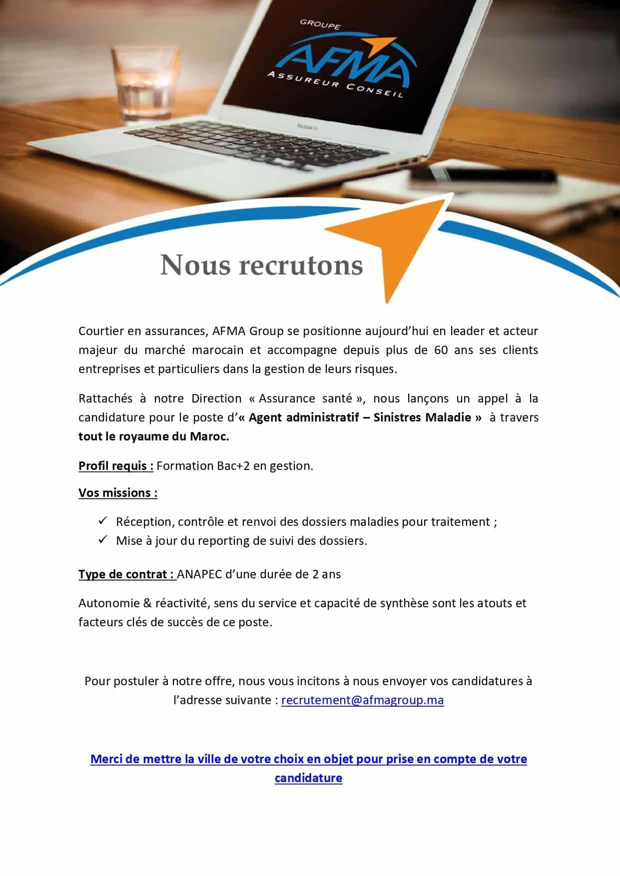 AFMA Group Emploi Recrutement