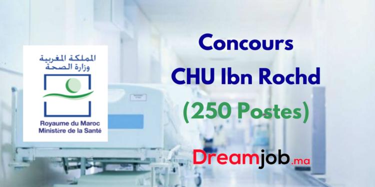 CHU Ibn Rochd Concours Emploi Recrutement