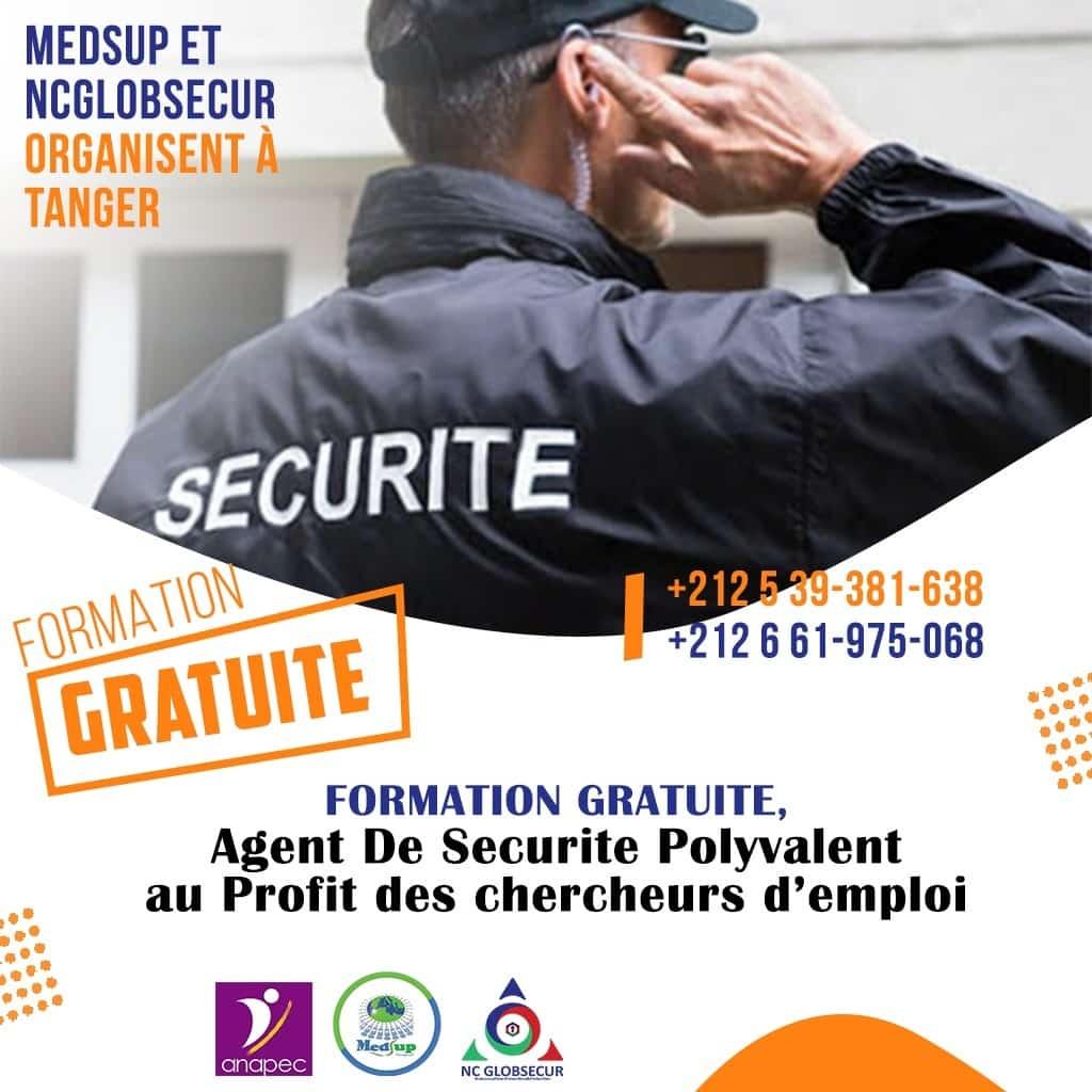 Formation Gratuite pour Devenir Agent de Sécurité Polyvalent