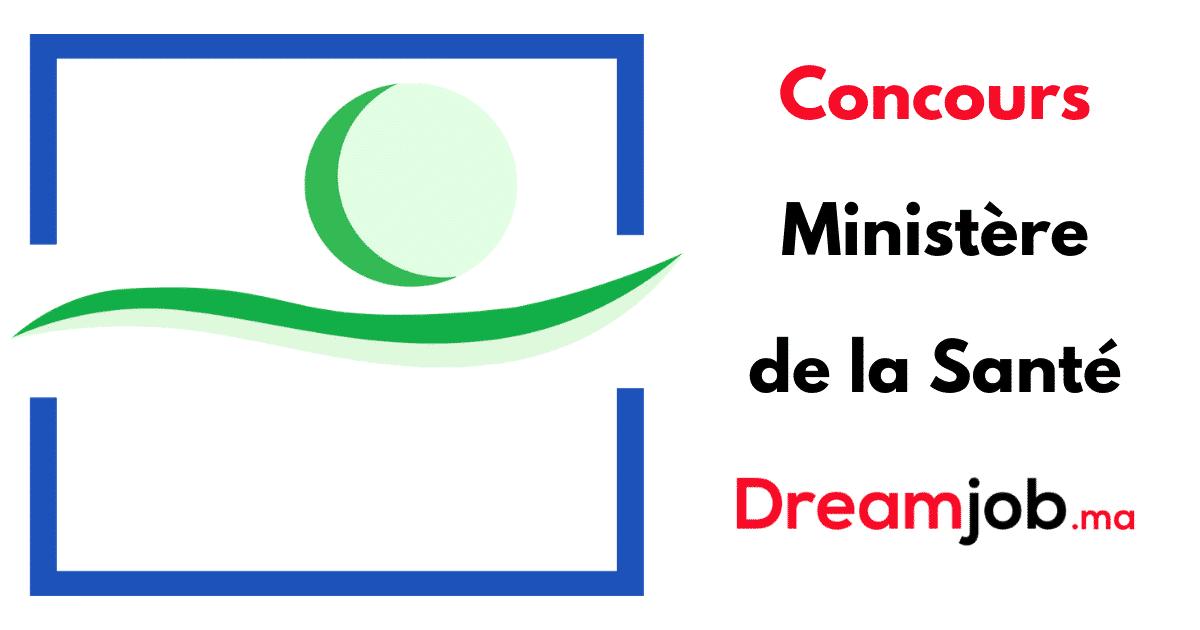 Ministère de la Santé Concours Emploi Recrutement