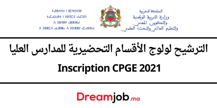 Inscription CPGE