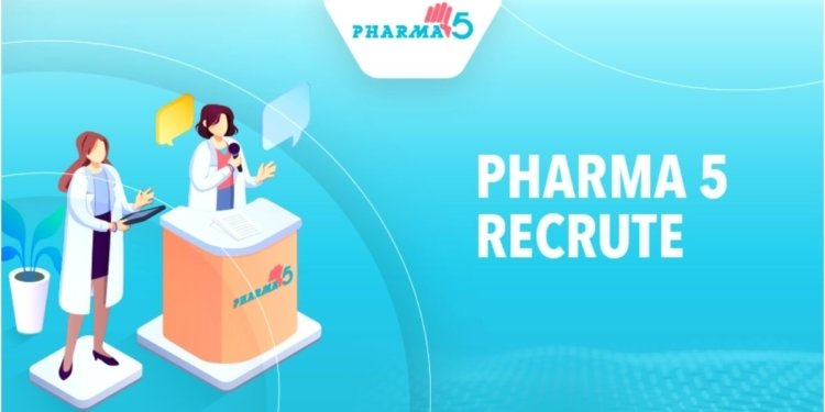 Pharma 5 Emploi Recrutement