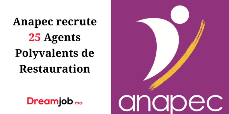 Anapec Recrutement Agents Polyvalents de Restauration