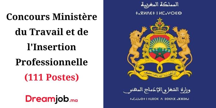 Ministère du Travail Concours Emploi Recrutement