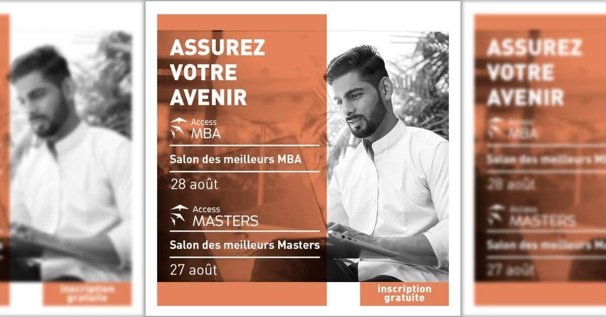 Salons MBA et Masters en Ligne