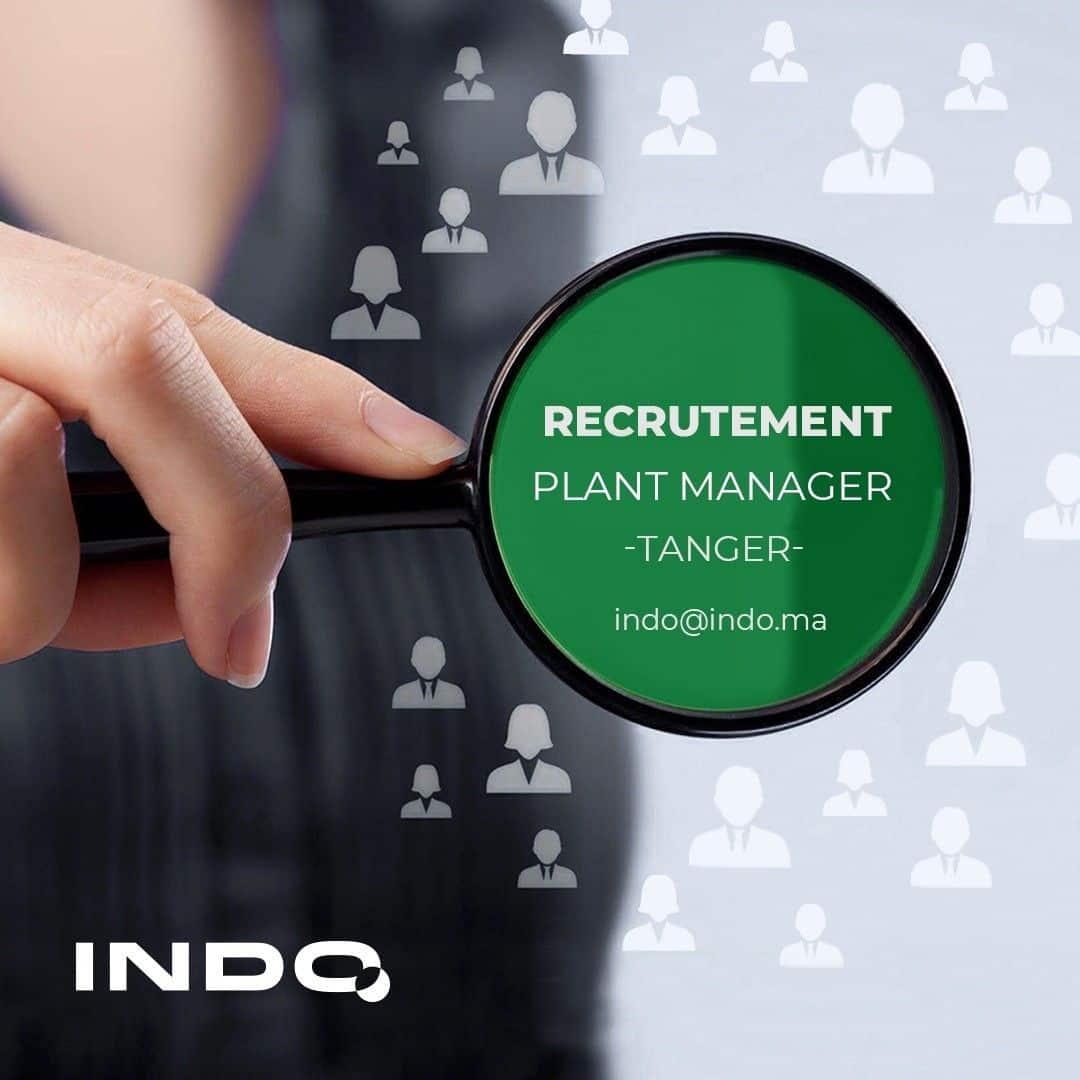 1619621164957 Indo Maroc recrute Responsable Production et Plant Manager