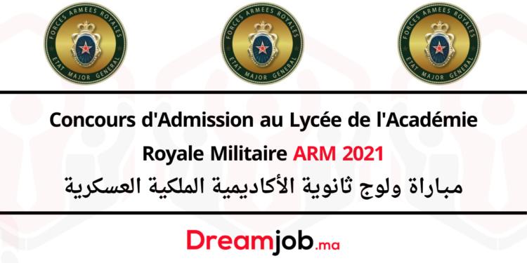 Concours ARM 2021