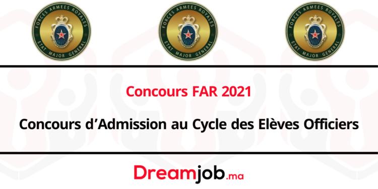 Concours far 2021 officiers