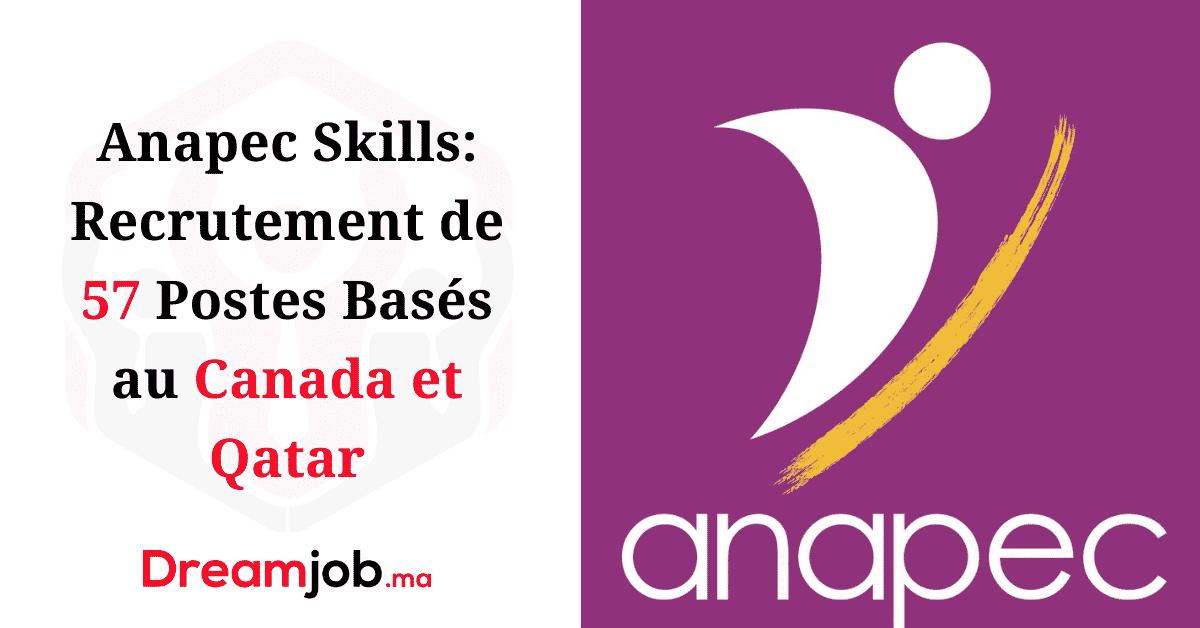 Anapec Skills Canada Qatar