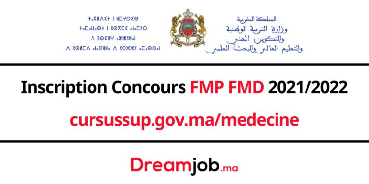 Inscription Concours FMP FMD