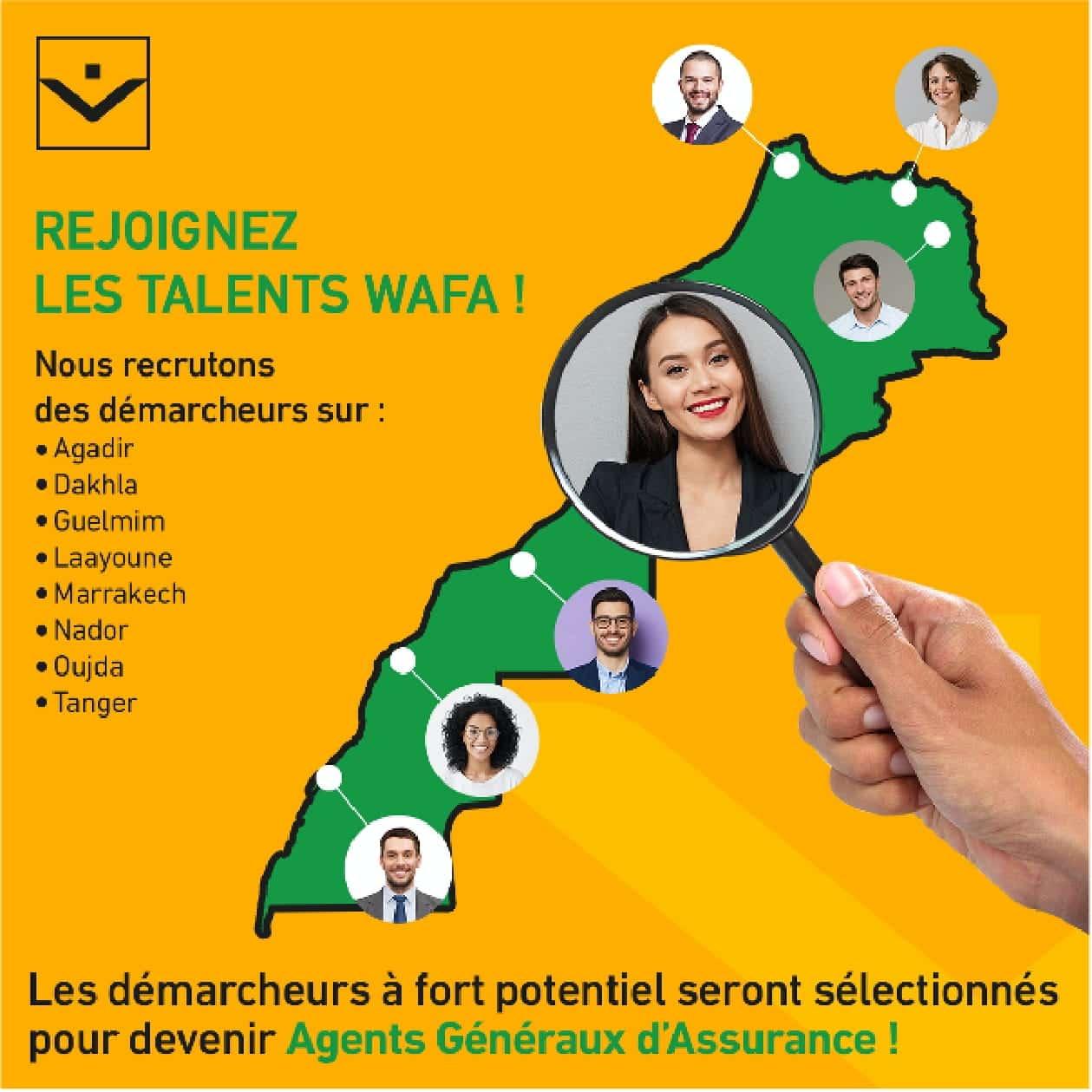 1625503837978 1 Wafa Assurance recrute des Démarcheurs sur Plusieurs Villes