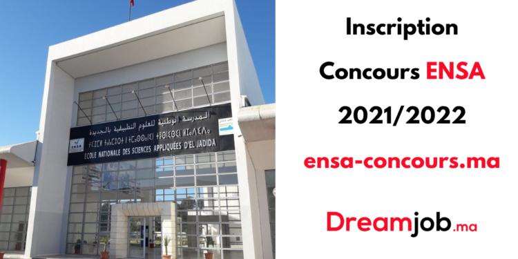 Inscription Concours ENSA