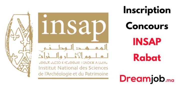 Inscription Concours INSAP Rabat