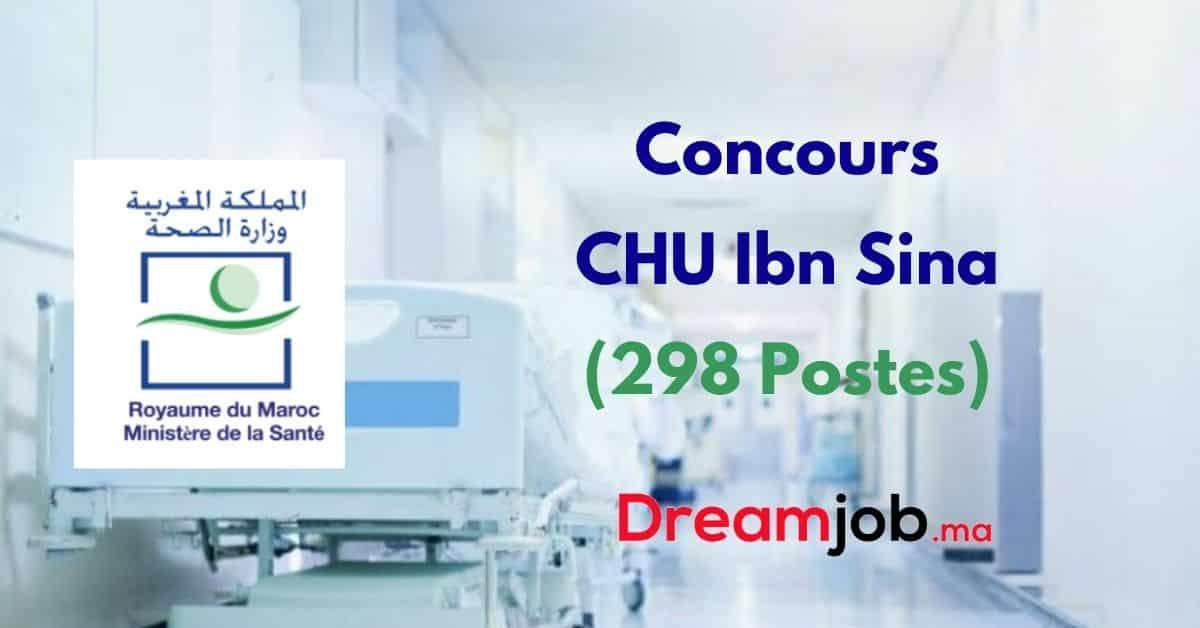 CHU Ibn Sina Concours Emploi Recrutement